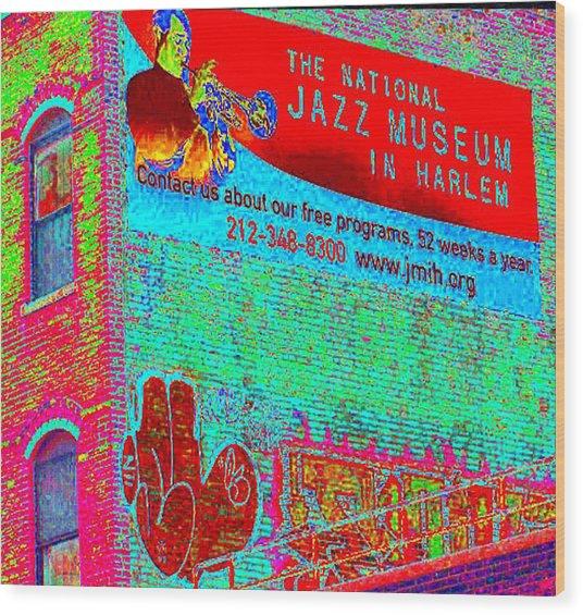Jazz Museum Wood Print
