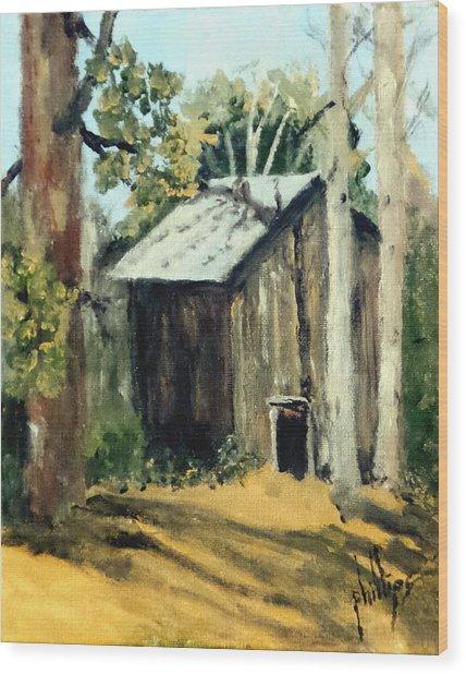 Jd's Backker Barn Wood Print