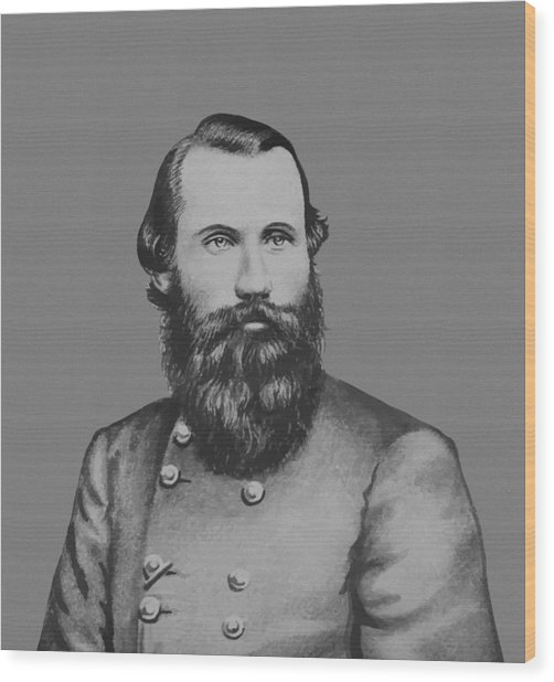 Jeb Stuart -- Confederate General Wood Print