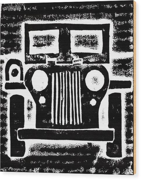 Jeep Wood Print