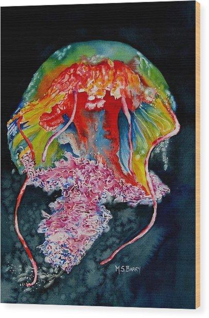 Jellyfish 2 Wood Print