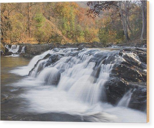 Jennings Creek Wood Print