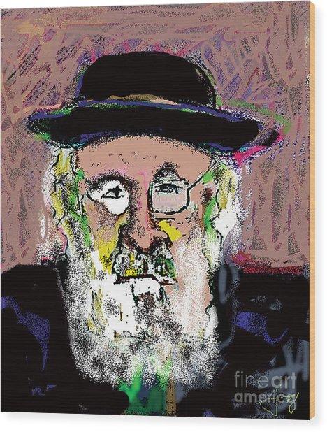 Jerusalem Man No. 2 Wood Print