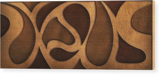 Jesus - Rustic Abstract Wood Print