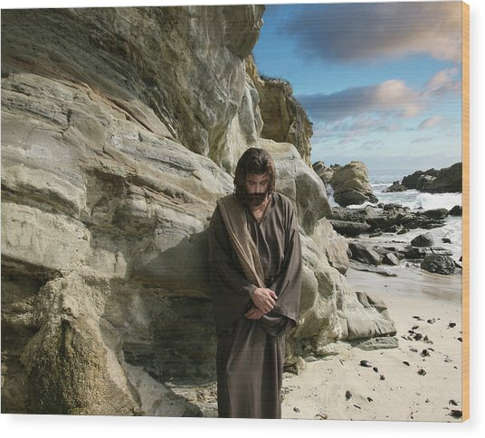 Jesus Christ- I Have Heard Your Prayer And Seen Your Tears I Will Heal You Wood Print