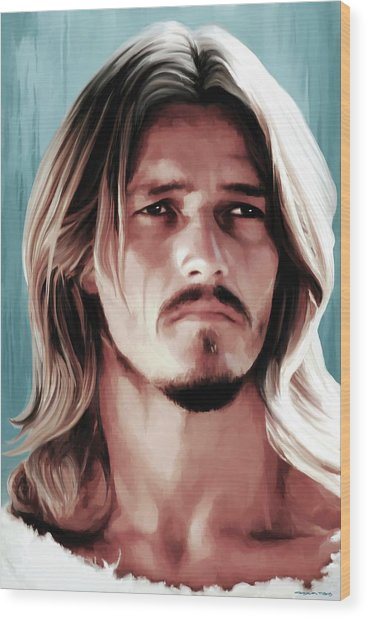 Jesus Christ Superstar Wood Print