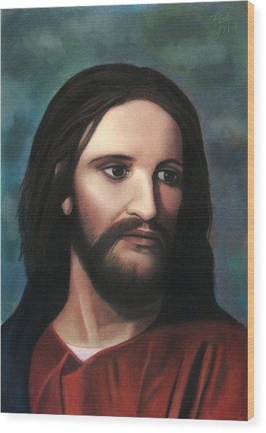 Jesus Of Nazareth - King Of Kings Wood Print