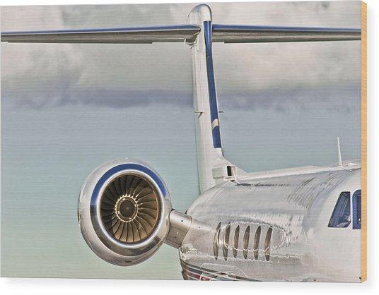 Jet Aircraft Wood Print