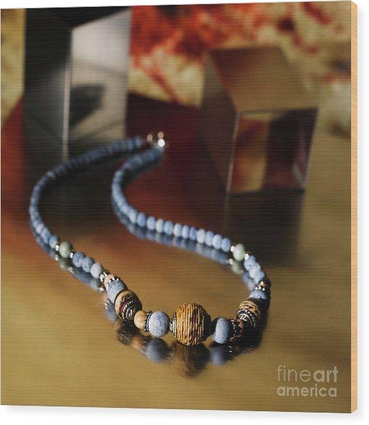 Jewelry Wood Print
