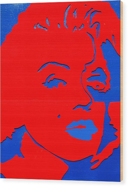 Jfk And The Other Woman Wood Print