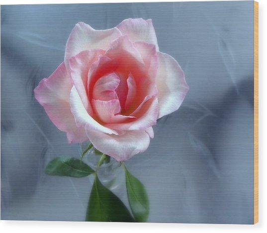 Jfk Rose Wood Print