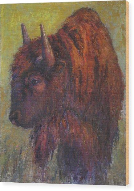 Jim Brown Wood Print
