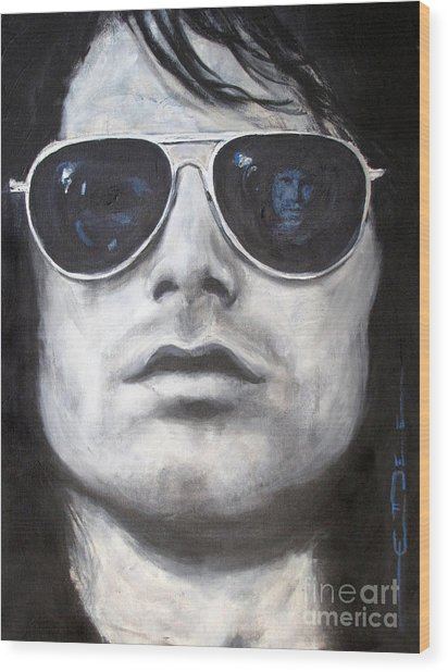 Jim Morrison IIi Wood Print by Eric Dee