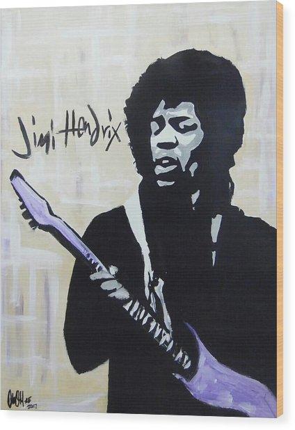 Jimi Gretness Wood Print