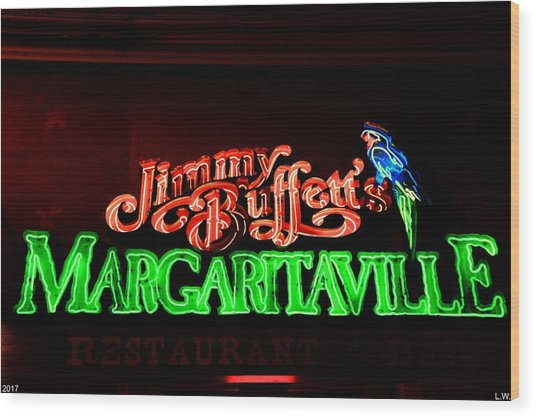 Jimmy Buffett's Margaritaville Wood Print