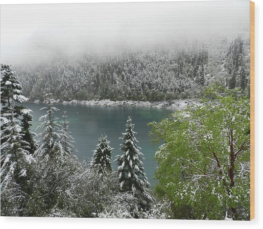 Jiuzhaigou National Park, China Wood Print