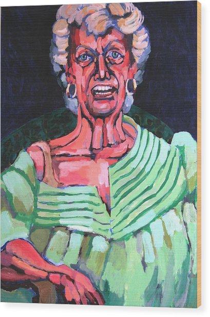 Joan Kierkegaard Wood Print