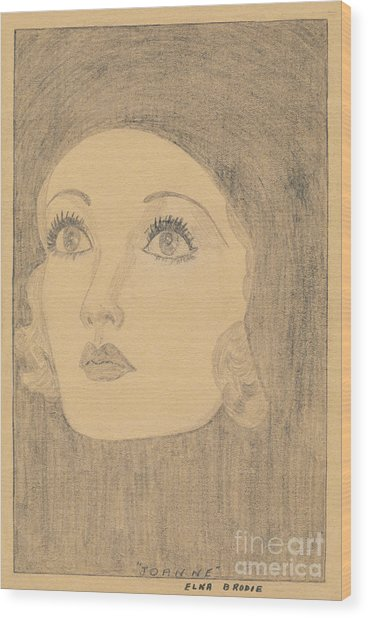 Joanne Bennett  Wood Print