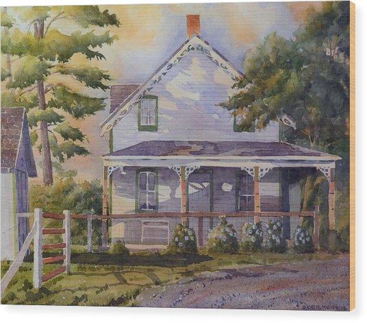Joanne's House Wood Print