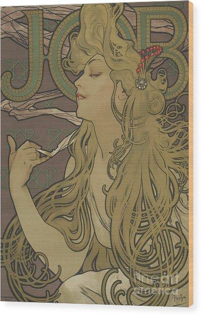 Job Vintage Poster Wood Print