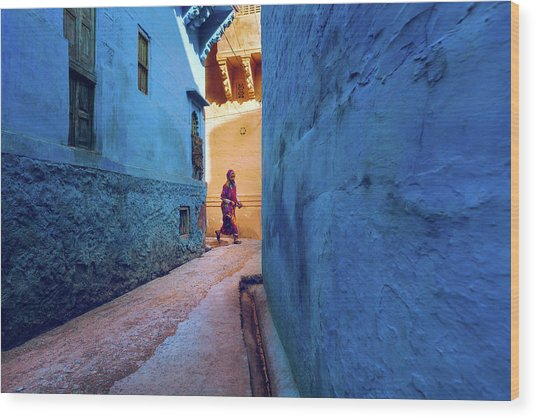Jodhpur Colors Wood Print