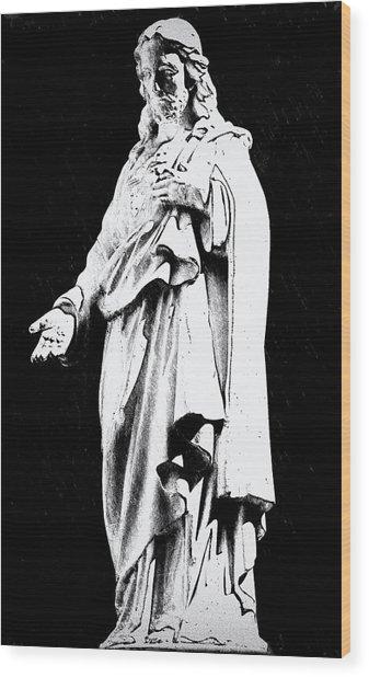 John 14-6 Wood Print