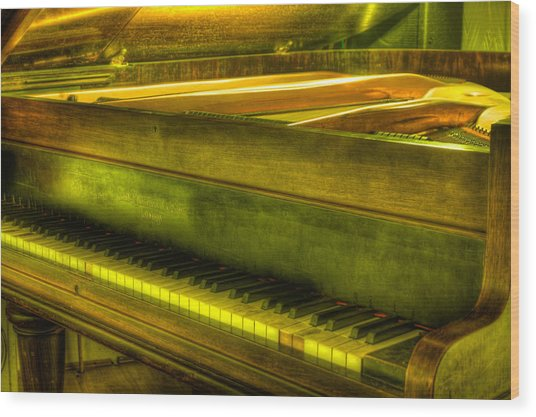 John Broadwood And Sons Piano Wood Print