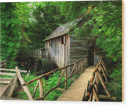 John Cable Mill 2 Wood Print