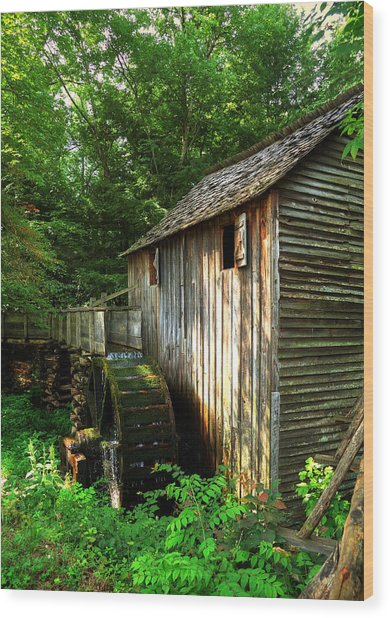 John Cable Mill 3 Wood Print