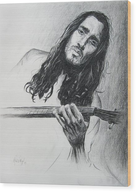 John Frusciante 1 Wood Print