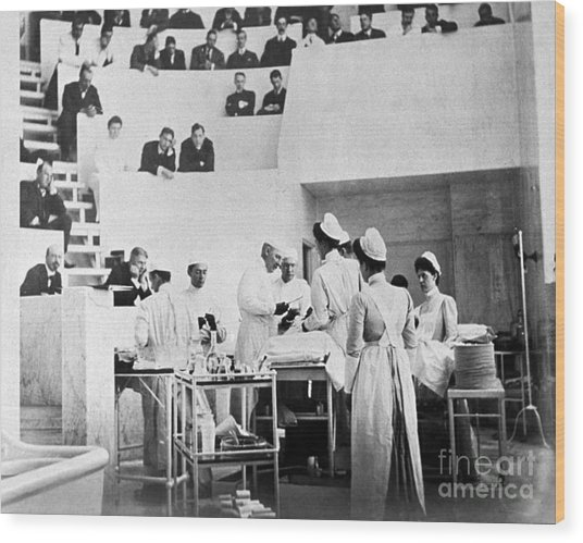 John Hopkins Operating Theater, 19031904 Wood Print