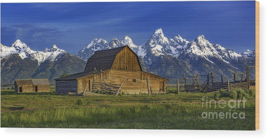 John Moulton Barn 2 Wood Print