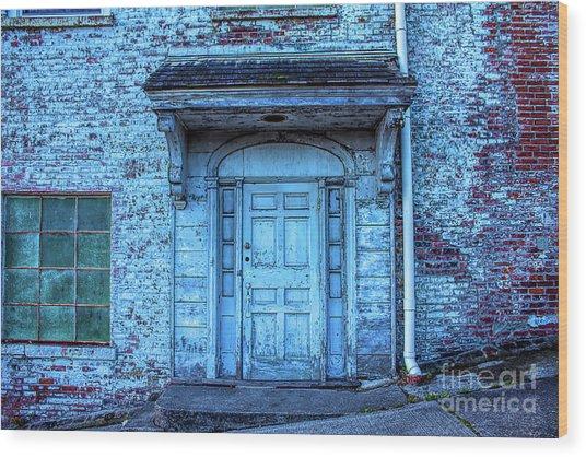 John Turl - Doorway To  Wood Print