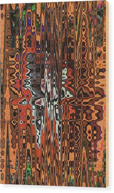 Jojo Abstract Wood Print