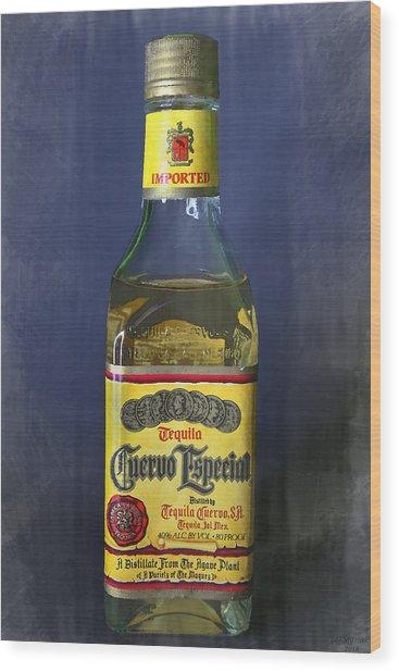 Jose Cuervo Tequila Wood Print