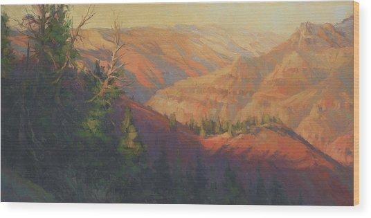 Joseph Canyon Wood Print