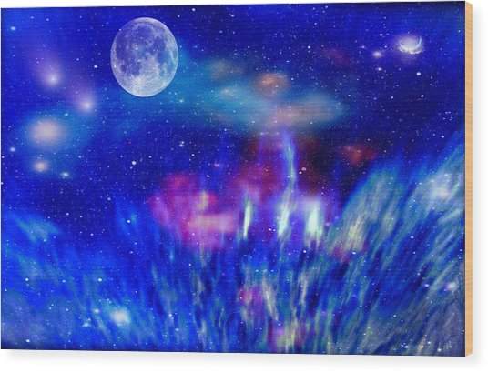 Journey Into The Universe Wood Print