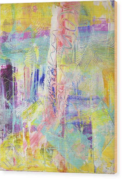 Joy In The Morning Wood Print