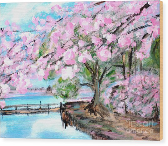 Joy Of Spring. For Sale Art Prints And Cards Wood Print