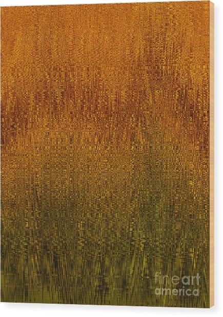 Joyful Harvest Wood Print