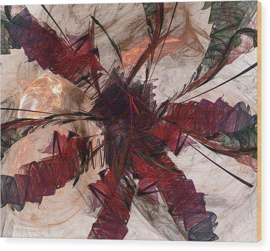 Jpk Digital Abstract 004 Wood Print