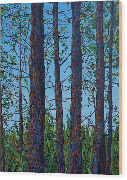 Jubilant Communitree Wood Print