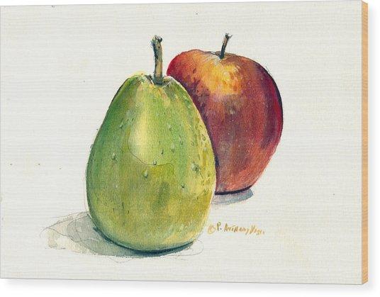 Juicy Fruit Wood Print