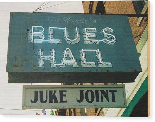 Juke Joint Wood Print