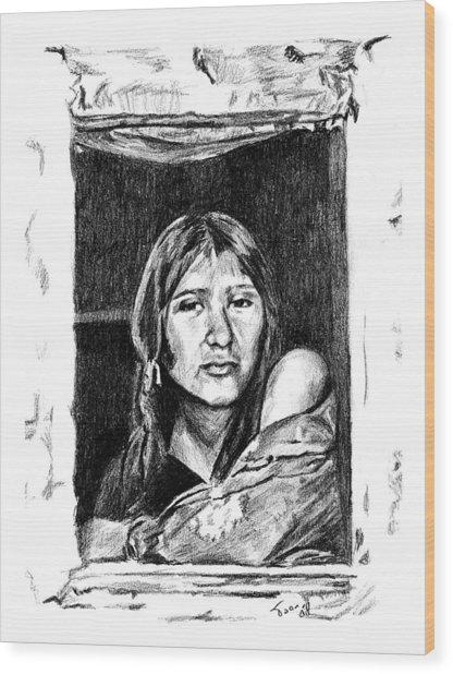 Juliet Wood Print