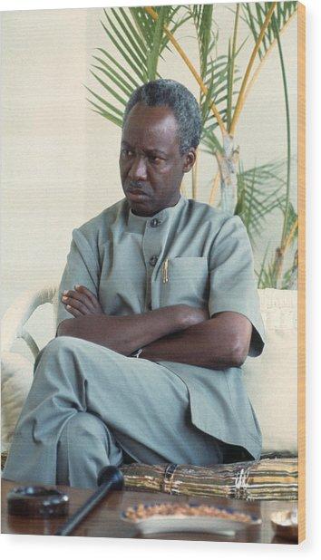 Julius Nyerere Wood Print