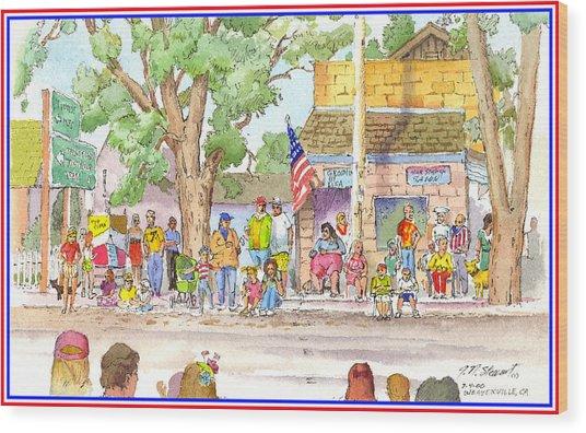 July 4th 2000 Wood Print