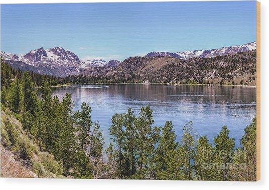 June Lake Wood Print