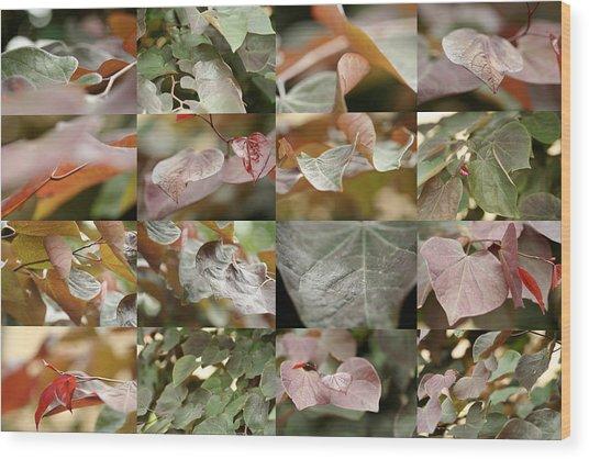 June Redbud Wood Print