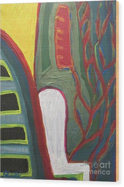 Jungle Undergrowth  - Sierra Leone Wood Print